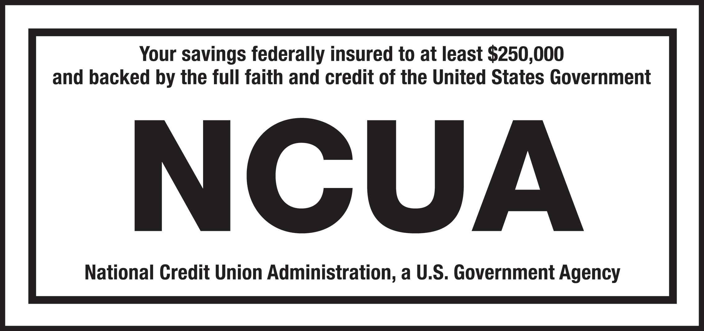 Federally Insured by the NCUA