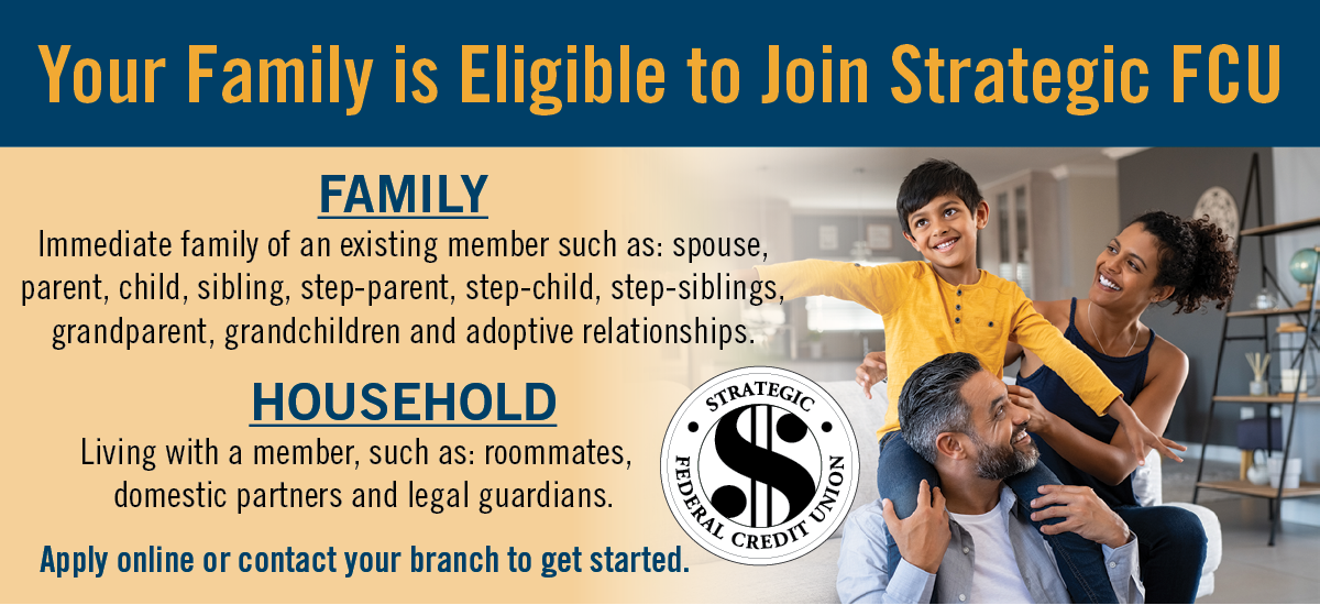 Your Family Can Join SFCU!
