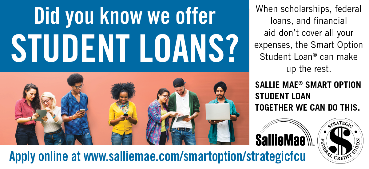 Did you know we offer Student Loans? Apply online