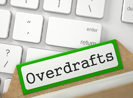 Overdraft File on Keyboard